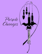 purple changes logo